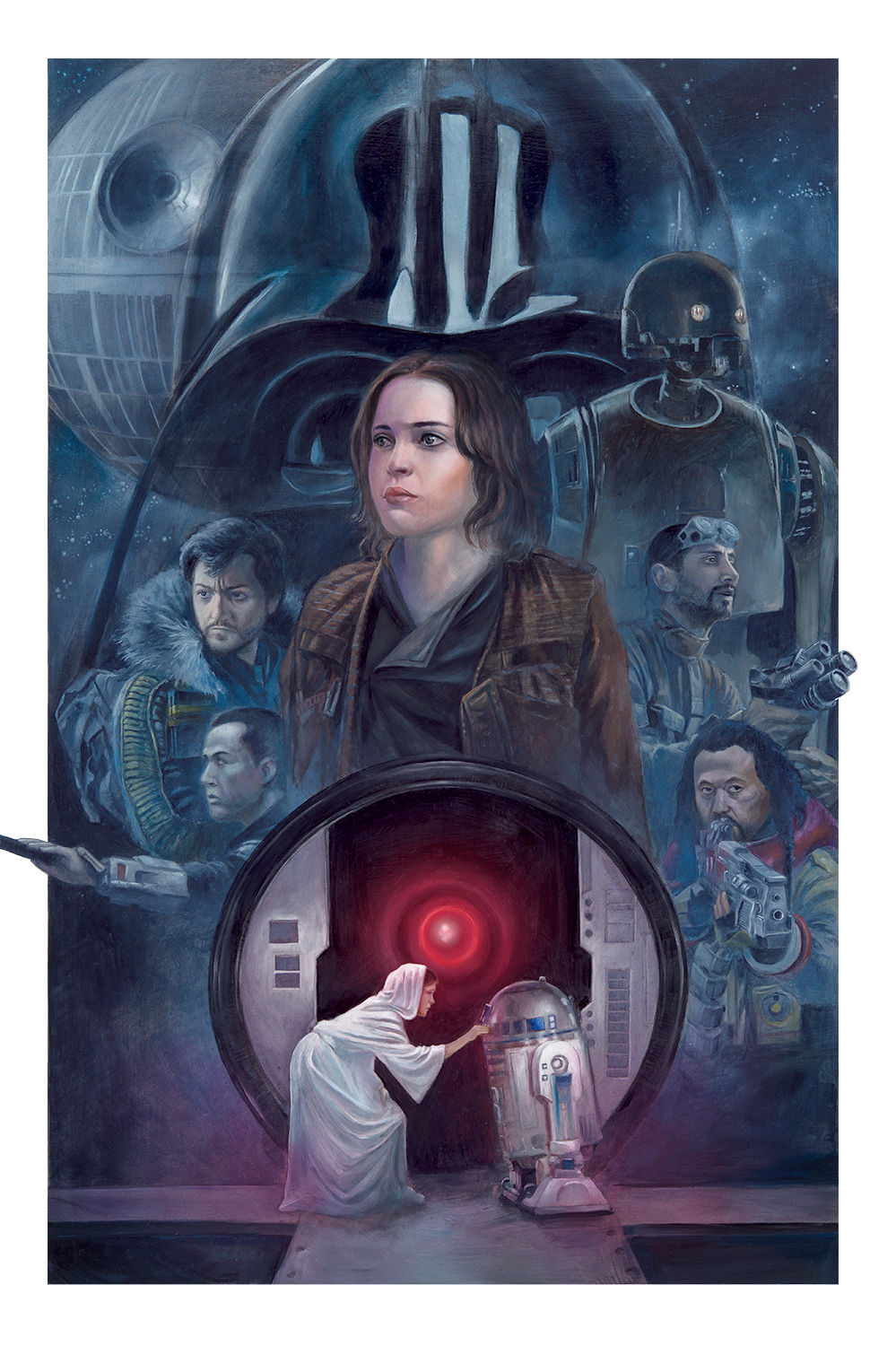 Built On Hope Rogue One Star Wars Celebration by Lee Kohse