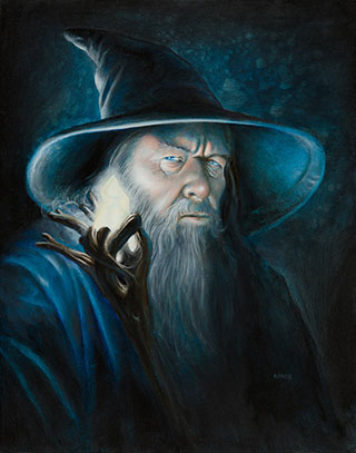 Gandalf Illuminated Lord of the Rings