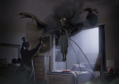 Exorcist Reboot Concept Art by Lee Kohse